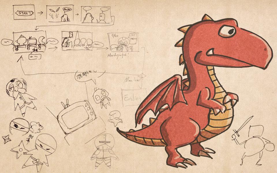 Ludum Dare 25游戏草图